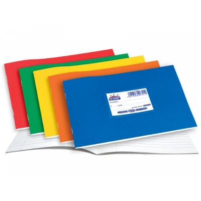 Super Διεθνές Τετράδια Πλάγια Χρωματιστά πλαστικά SKAG (μαλακό εξώφυλλο)