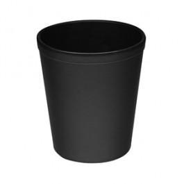 Καλάθι Αχρήστων ΟSCO Δερματίνη Μαύρο Νο 9208 29cm