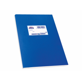 Super Διεθνές Τετράδιο Μπλε 20 φ. κλασικό πλαστικό SKAG (μαλακό εξώφυλλο)