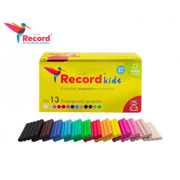 Record Kids πλαστελίνη 13 χρωμάτων