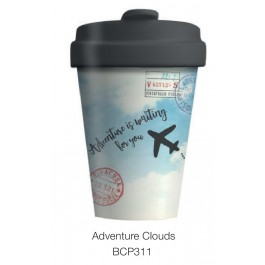 Bamboo Cup Adventure Clouds 400ml κούπα