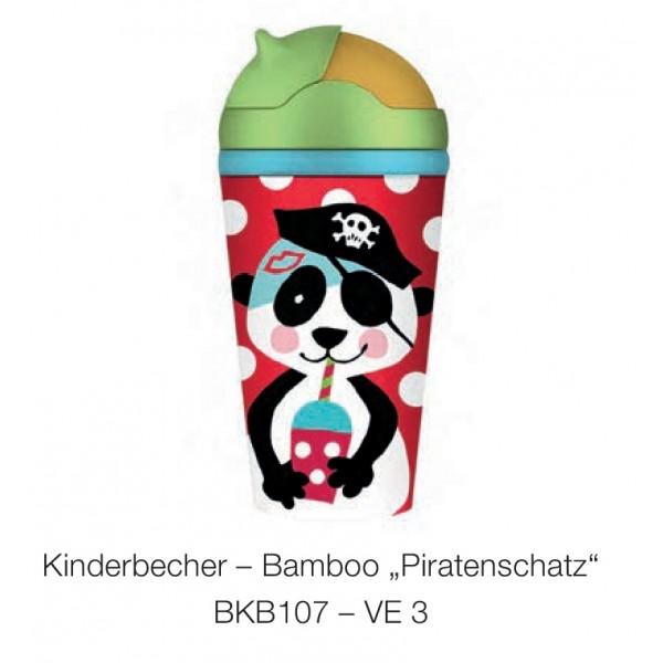 """Bamboo Friends Παγούρι """"Piratenschatz"""" 300ml"""