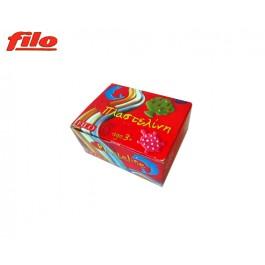 Πλαστελίνη Filo Rony κουτί 11 χρωμάτων