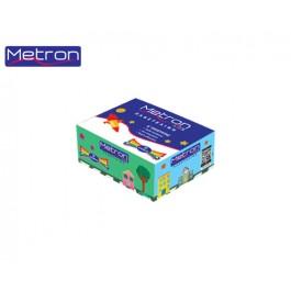 Metron πλαστελίνη κουτί 11 χρωμάτων