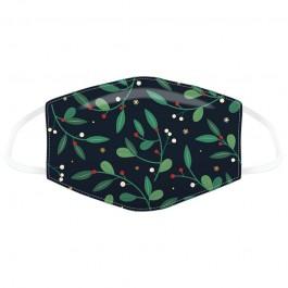 Μάσκα προστασίας Large με αυξομειωτή πολλαπλών χρήσεων Mistletoe Christmas