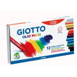 Λαδοπαστέλ Giotto 12τεμ. Olio