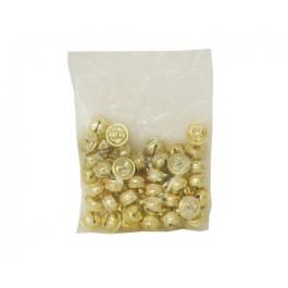 Κουδουνάκια χρυσά μεσαία 1.5 cm. σε σακουλάκι των 25 τεμαχίων