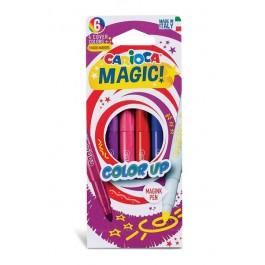 Μαρκαδόροι Carioca Color Up 6 (4+2)τεμ.