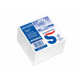 Κύβος Απλά Ακόλλητα Χαρτάκια Skag Μύκονος Λευκός 650 φύλλων