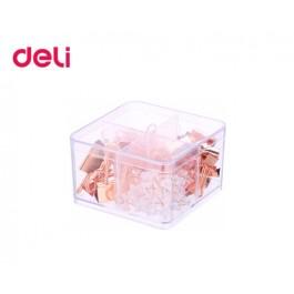 Πιάστρες - Καρφίτσες - Συνδετήρες Rose Gold Deli 171 τεμ.