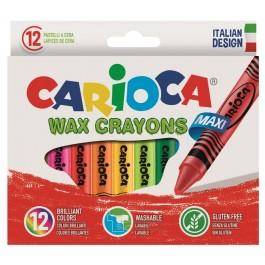Κηρομπογιές Carioca 12τεμ. wax