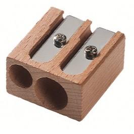 Ξύστρα ξύλινη M+R διπλή