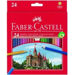 Ξυλομπογιές Faber Castell 24τεμ. Κάστρο