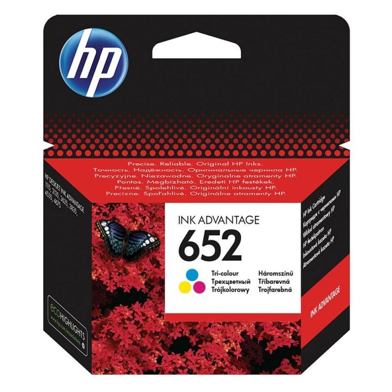 HP 652 Colour Μελάνι Inkjet (F6V24AE) (HPF6V24AE)