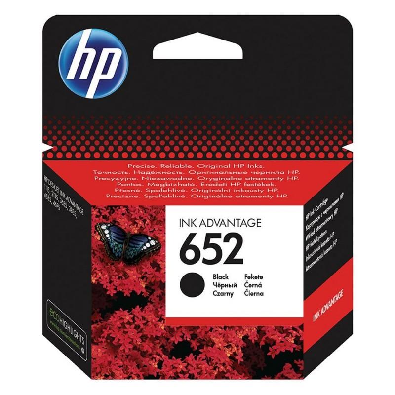 HP 652 Black Μελάνι Inkjet (F6V25AE) (HPF6V25AE)