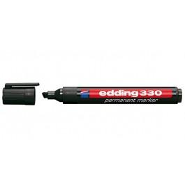 Edding 330 Ανεξίτηλος μαρκαδόρος πλακέ μύτη